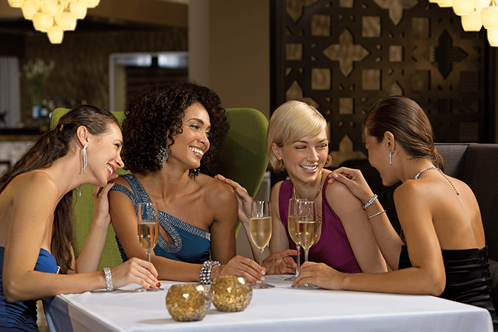Dine with your friends at Coquette