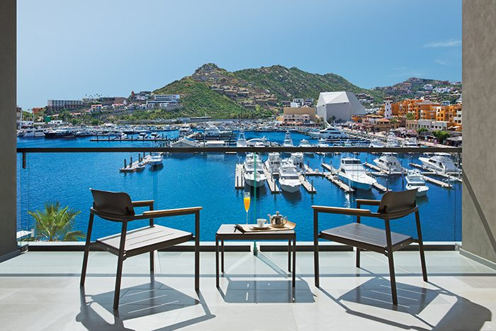 Breathtaking Marina View from Allure Suite terrace.