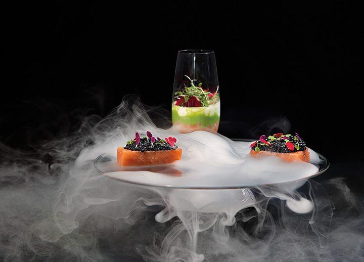 Molecular cuisine.