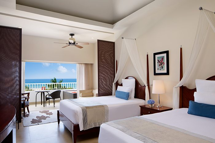 Preferred Club Junior Suite Ocean View Doubles.