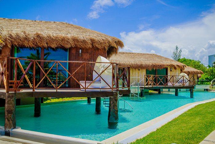Over the Pool Cabana Honeymoon Suite.