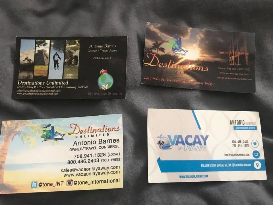 Past Business Cards