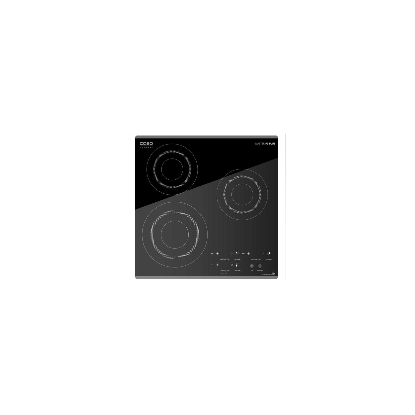 Caso Master P3 plus piano cottura Induzione da appoggio 3