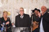 Gabi Kaul Eventmanagerin, Kurator Ralph Kartelmeyer, Jesse Cole, Christfried Drescher Hoteldirektor