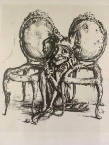 Nur Menschen ohne Selbstwertgefühl sitzen zwischen zwei Stühlen.