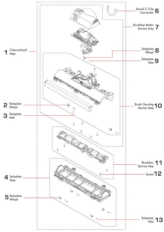 Dyson Vacuum Diagram, Dyson, Free Engine Image For User