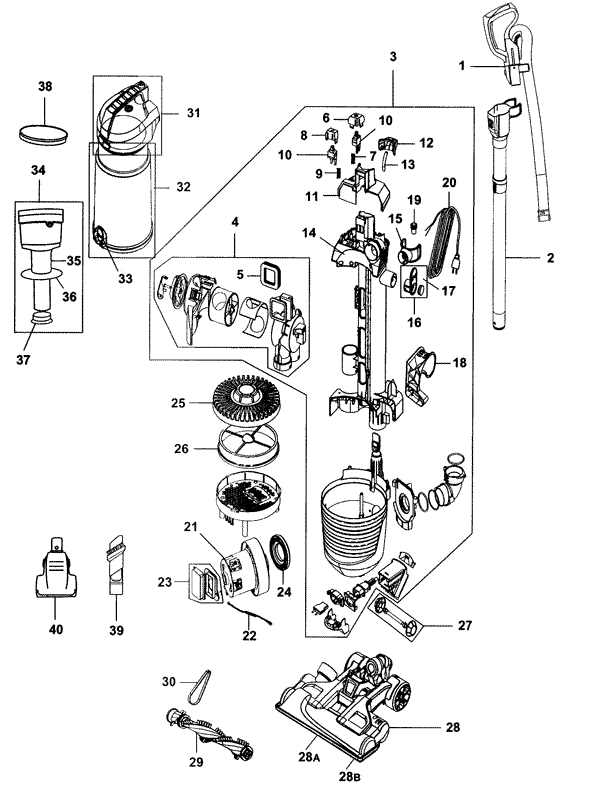 Schematics Diagrams Electrolux