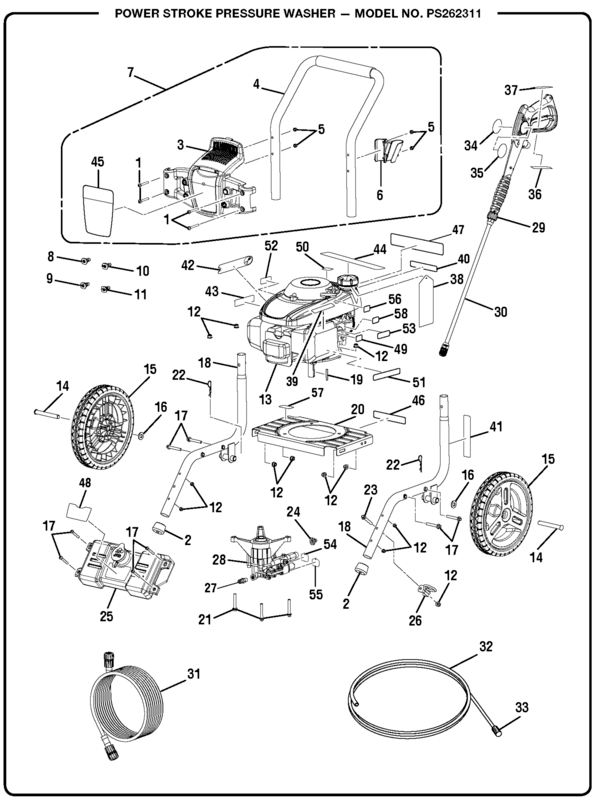 Washer Parts: Pressure Washer Parts And Accessories