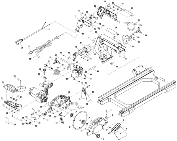 Ridgid R4040 Tile Saw Parts and Accessories- PartsWarehouse
