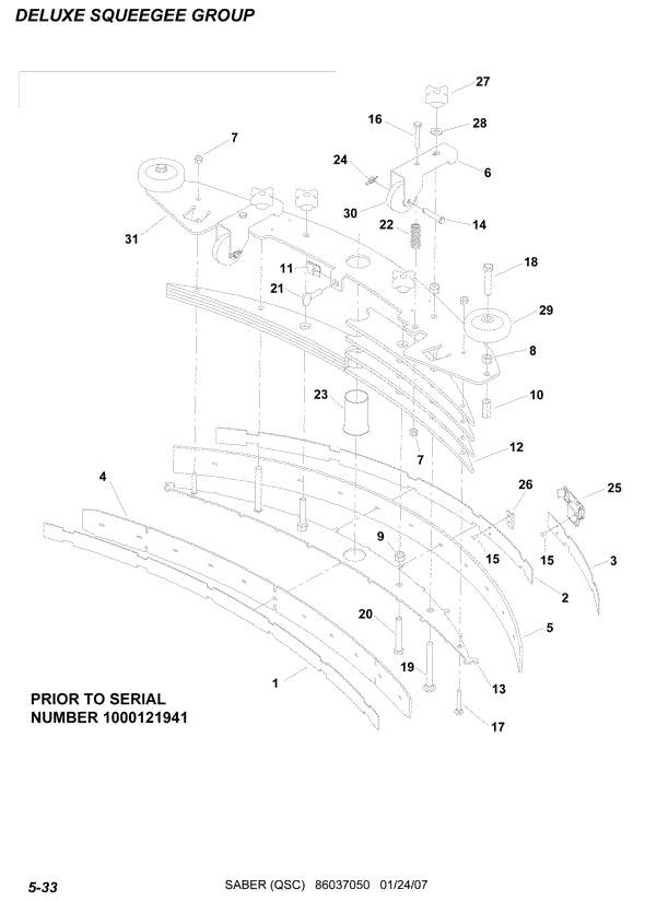 Windsor Saber Compact 20 Repair Parts & Diagrams