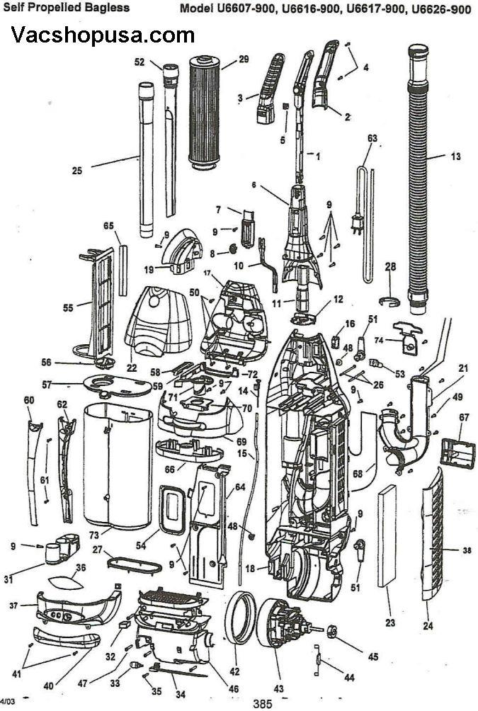 Vacuum Parts: Miele Vacuum Parts List