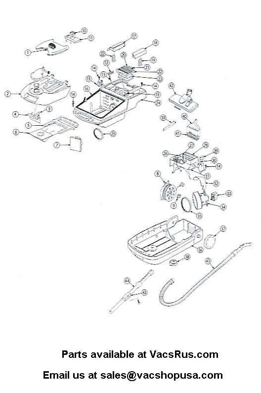 Pro Team CX420 Parts Schematic