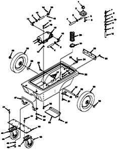 Nobles Trooper 1000 Portable Carpet Extractor Parts
