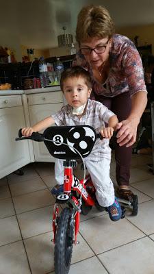 vélo avec mamie vaterl