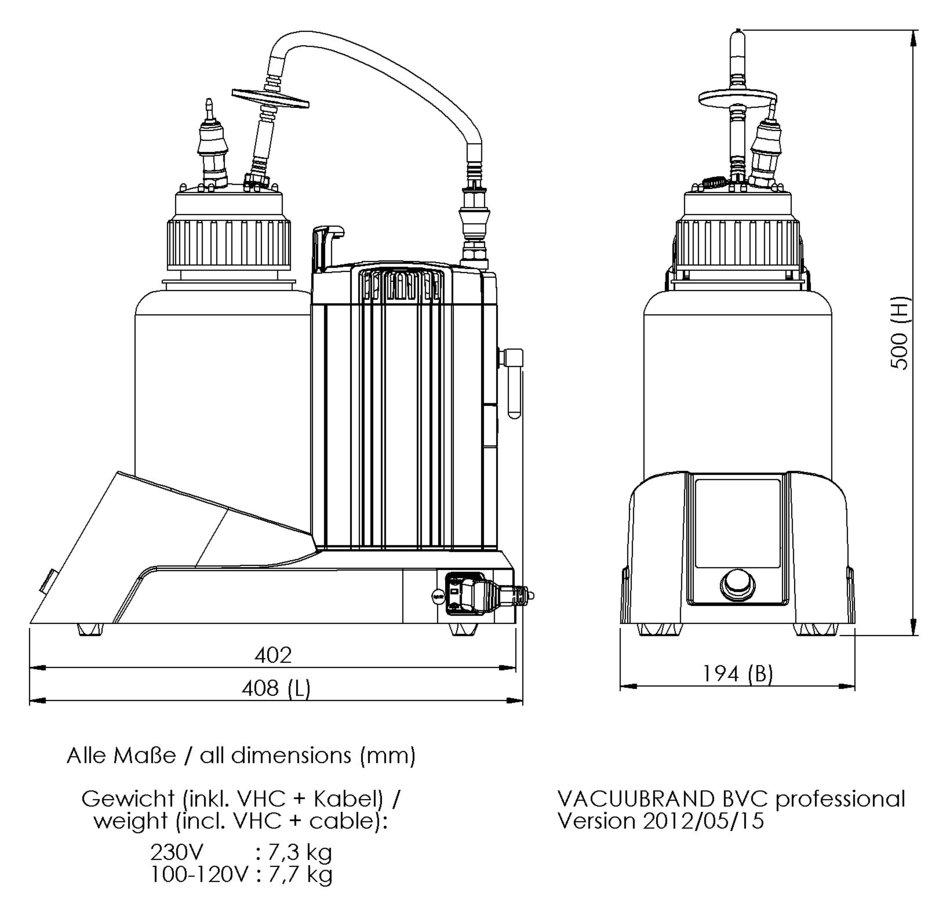 BVC professional Fluid aspiration system