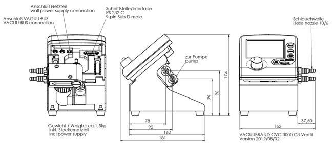 Cvc 3000 vacuum controller manual