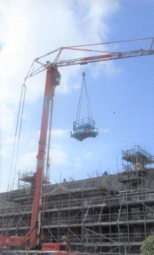 Spierings 4 Axle Mobile Tower Crane