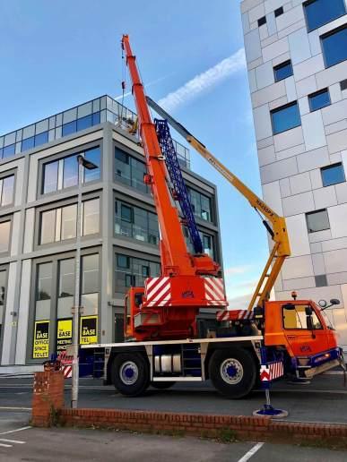 AC35L Mobile Crane Contract Lift