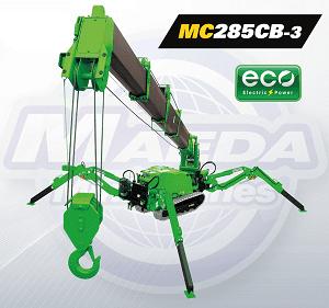 Maeda-MC285CB-3 Eco Electric Mini Crane.