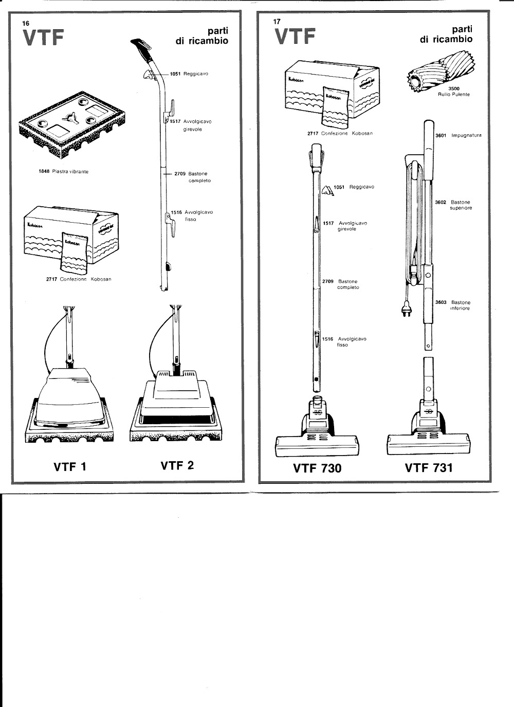 Vorwerk Folletto Spare Parts Manual #12