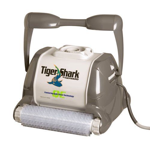 Best Pool Vacuum Cleaner Reviews: Hayward RC9990GR TigerShark QC Automatic Robotic Pool Cleaner with Quick Clean Technology