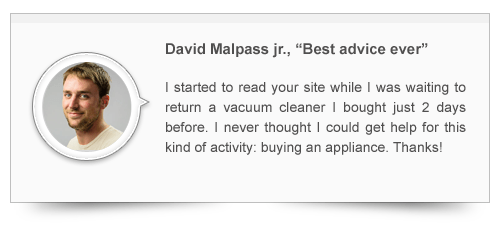 David's testimonial
