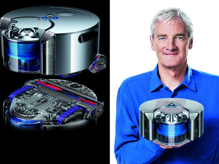 james dyson reveals the eye 360