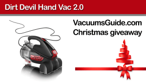 Christmas Giveaway from VacuumsGuide.com