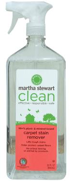Martha Stewart carpet stain remover