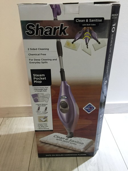Shark Steam Pocket Mop Box