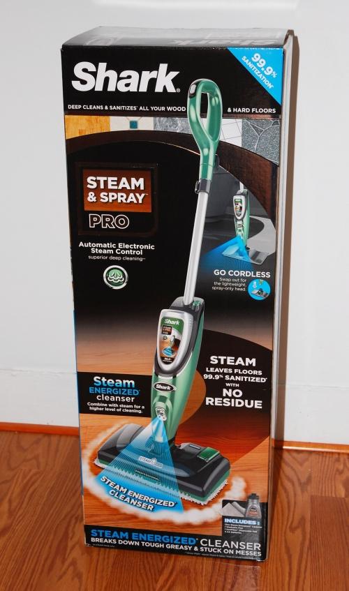 Steam mop package
