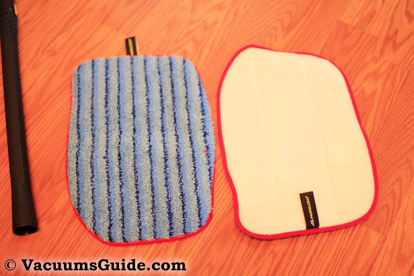 McCulloch MC1375 cloth pads