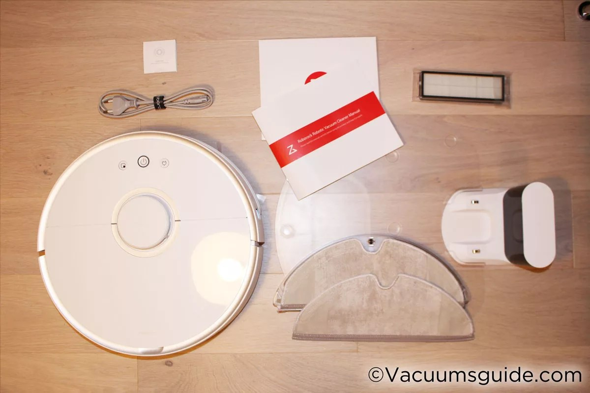 Xiaomi 2 Robot Box Contents