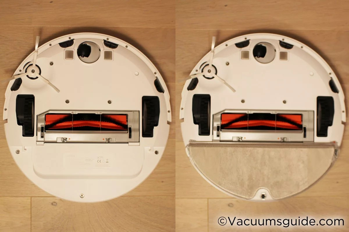 Xiaomi Robot With And Without Mop