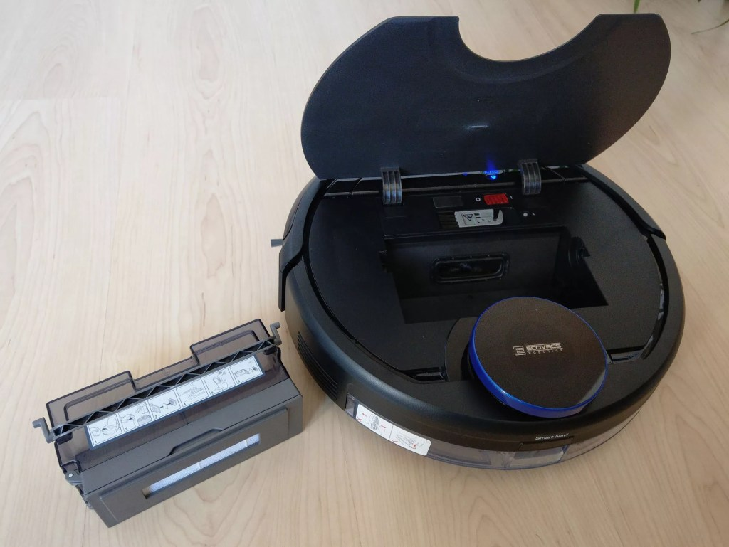 Ecovacs DEEBOT OZMO - the review of an interesting robot vacuum