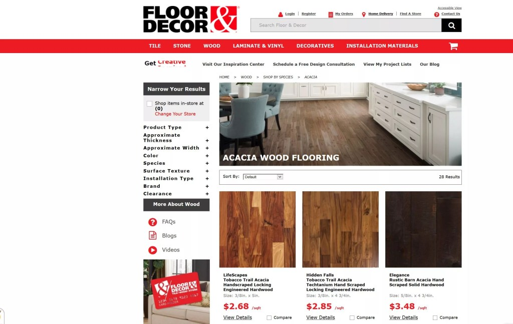 Acacia Wood Flooring Reviews Brands And Pros Vs Cons