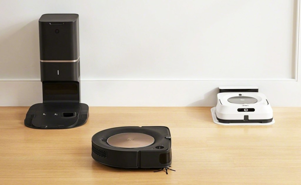 iRobot Roomba s9 and Braava Jet M6 paired with Imprint Link