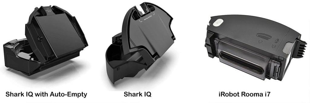 Shark and Roomba bins