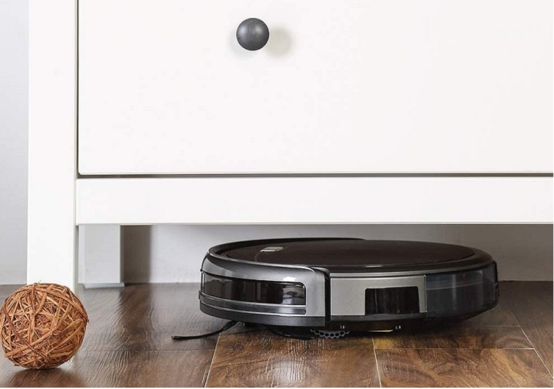 Quiet Operation Remote Control ILIFE A4s Robot Vacuum Cleaner Powerful Suction