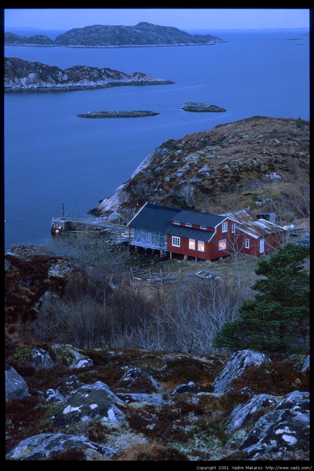 Photo Brygga Hitra island Norway