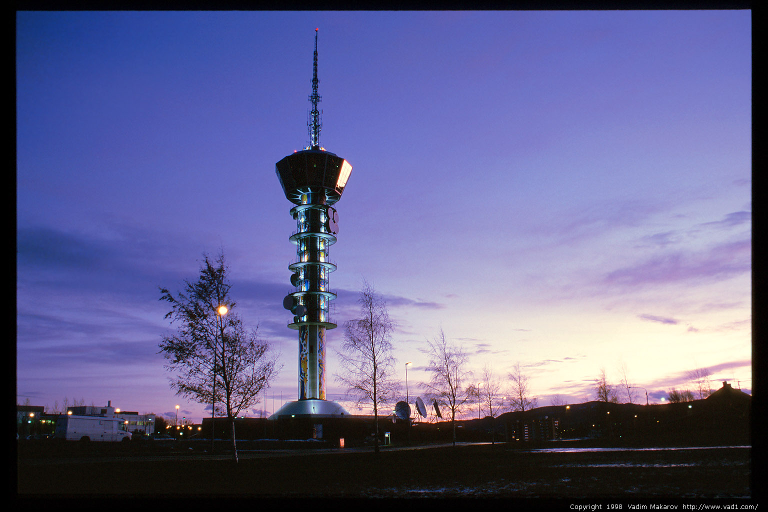Photo Tyholt Trnet Tyholt TV Tower