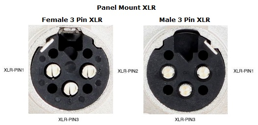 Xlr To 1 4 Wiring Diagram Wiring Pin Assignments For Neutrik Connectors Vadcon