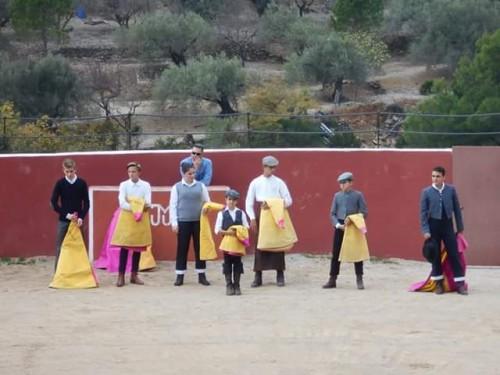 Imatges de la jornada a la ramaderia de Mur de Ciutadans amb l'Escola catalana