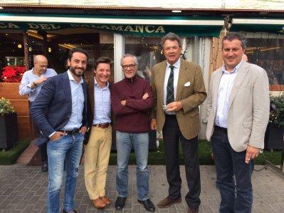 David Casas, Diego Urdiales, Salvador Boix, Carlos Núñez e Israel Vicente