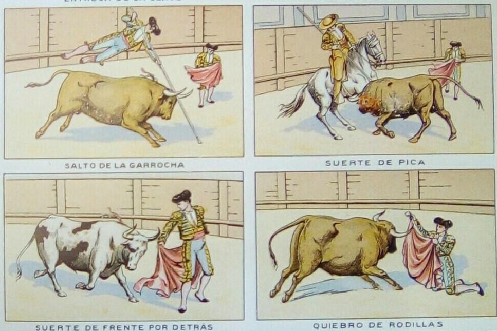 El publicista Anton M. Rigau edita una lámina taurina en Girona