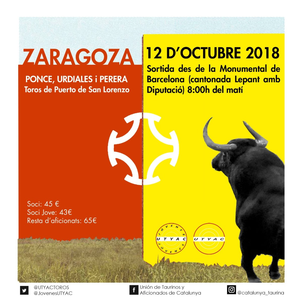 La UTYAC et porta a Zaragoza
