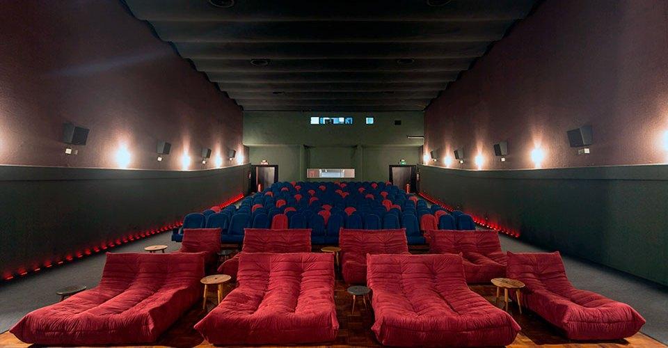 Interior Cinesala