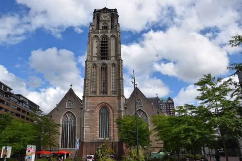 Laurenskerk in centrum Rotterdam