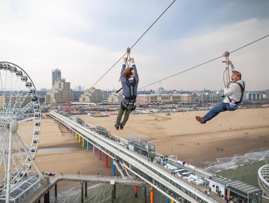 Zipline Den Haag Pier Scheveningen