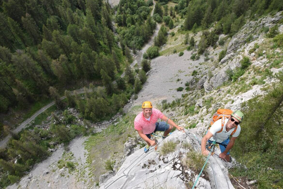 Via ferrata in Ancelle